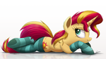 Sunset Shimmer Pinup by NCMares