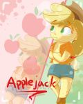 Chibi Applejack by TheDerpyEnthusiast