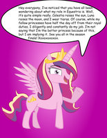Cadance's Role in Equestria by ComicCrest