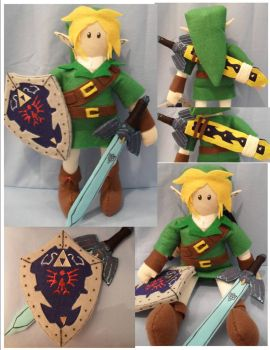 Link 2010 Plushie by Jemi-Linked