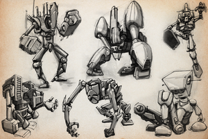 SKETCHBOOK - More Robots by RevoRobotica-Liam