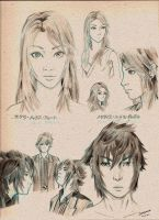 Sketchbook -Stella and Noctis- by Prismatic-Prince