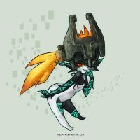 What a tease - Midna by neofox