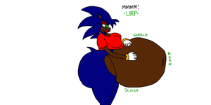 Request - Ebonized Sonica Vore by TruePhazonianForce