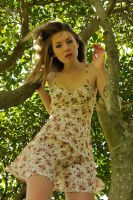 Peach - tree fashion 1 by wildplaces