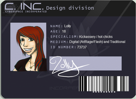 Concept Wars ID Card by LollyxBeans