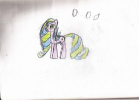 Little Miss Barney, My First Pony Drawing! by MinkyStar