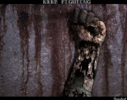 Keep Fighting by gearlock