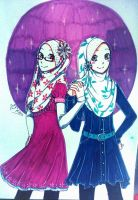 HIJAB GIRL by 99RIKA