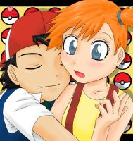 Ash Loves... by CGsomnium