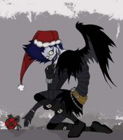 Christmas Ryuk 2 by darksins