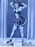 Pinup Queen by amberchrome