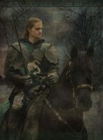 The knight Lancelot by Ajraan