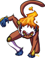 POKEDDEX DAY 2: Infernape by NoaQep