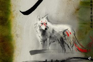 Okami Sketch 1 by GAVade