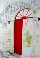 Red door by ilinea