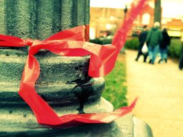 Red Ribbon by BloodyMinded6