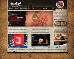 Tatto Website by maoractive