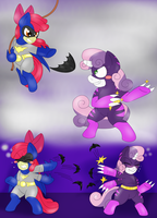 :Commission: Childhood Battles by BlackBeWhite2k7