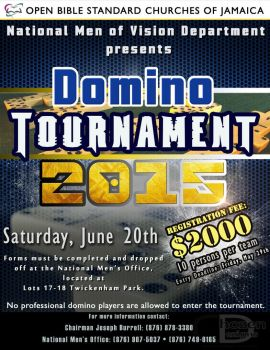 Domino-Tournament-2015 by D-Dolphy