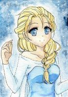 Snow Queen Elsa by Yenni-Vu