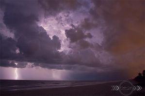 Lightning Storm by CandiceSmithPhoto
