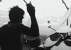 Jimmy Drumming5 by GrimAsEver