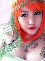 My Poison Ivy cosplay.. amateur -.- by krymsinthe