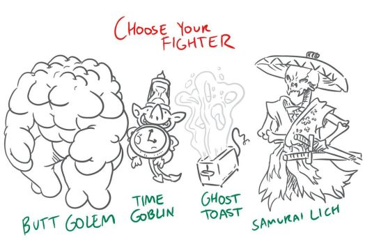 Choose Your Fighter R3-2 by MatthewJWills