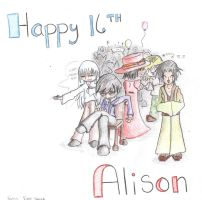 Birthday art - Alison by Changeling007
