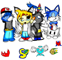 2011 ID -All Main OCs- by TeenPioxys101
