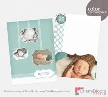 Photographer Template - Thank You Card- B by CherryBloomDesign