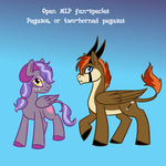 Open MLP Species: Pegasos by The-Clockwork-Crow