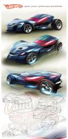 Hot Wheels design by candyrod