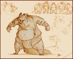 Sumo. by FortunataFox