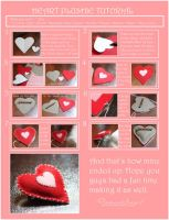 Plush Heart Pin Tutorial by damaskangel
