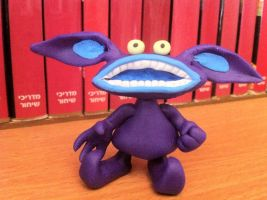 Ickis - Aaahh!!! Real Monsters by UniqueT