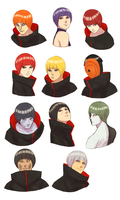 Akatsuki bowl cut by steampunkskulls