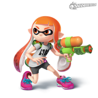 Inkling Girl- Transparent by Sean-the-Artist