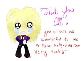 Thank you all~! by EmiMagick