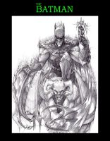 The Dark Knight by MisterFerv