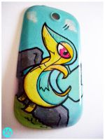 Shiny Snivy Phone case by Viagraphics