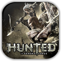 Hunted Demon's Forge Game Icon by Wolfangraul