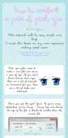 Pixel eyes tutorial by koffeelam