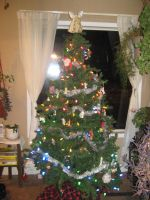 Our Christmas tree by silana