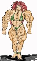 massive Muscular Amazon by Luis3iguel