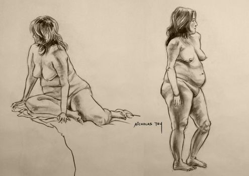 Life Drawing L1 by nictey