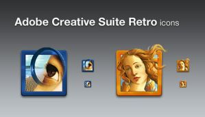 Adobe Creative Suite Retro by barrymieny