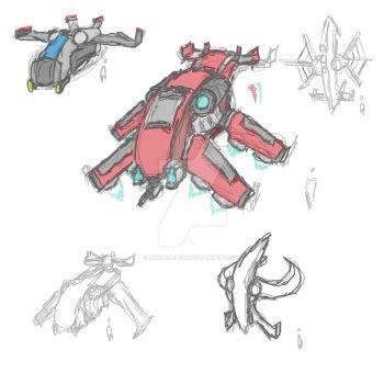 Ship Sketches by Schlegel120