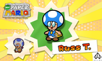 New Paper Mario: Russ T. by Nelde